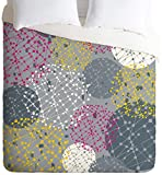 Deny Designs  Rachael Taylor Lattice Trail Duvet Cover, Twin/Twin XL