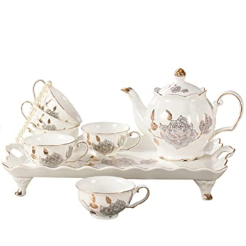 Pet Bone China Tea Cupstea Mug Setporcelain Tea Sets For Girls And
