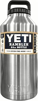 YETI Rambler 64 fl. oz. Vacuum Insulated Bottle (Stainless Steel)