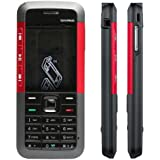 NEO VICTORY Replacement Full Body Housing Panel For Nokia Xpress Music 5310- Red