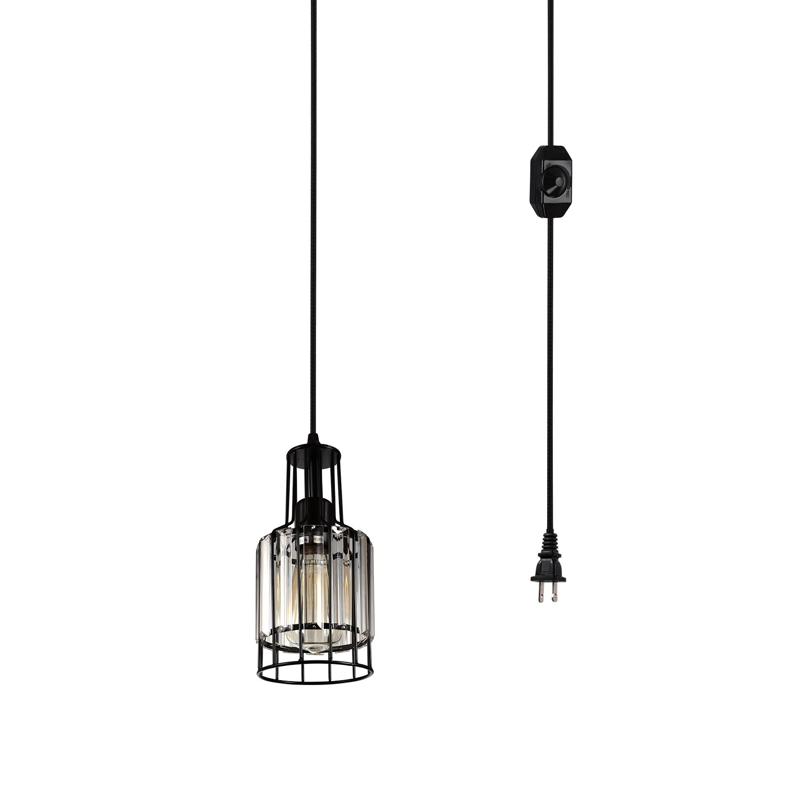 plug in hanging light ceiling lamp vintage portable modern pendant rh ebay co uk Portable Light Switch Portable Light Towers