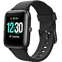 Smartwatch, fitnesstrackerhorloge, 1,3 inch HD volledig touchscreen, dames en heren, horloge voor Android iOS, IP68…