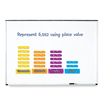 Toys & Games Learning Resources Giant Magnetic Place Value Set