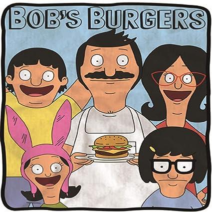 amazon com bob s burgers soft fleece blanket officially licensed