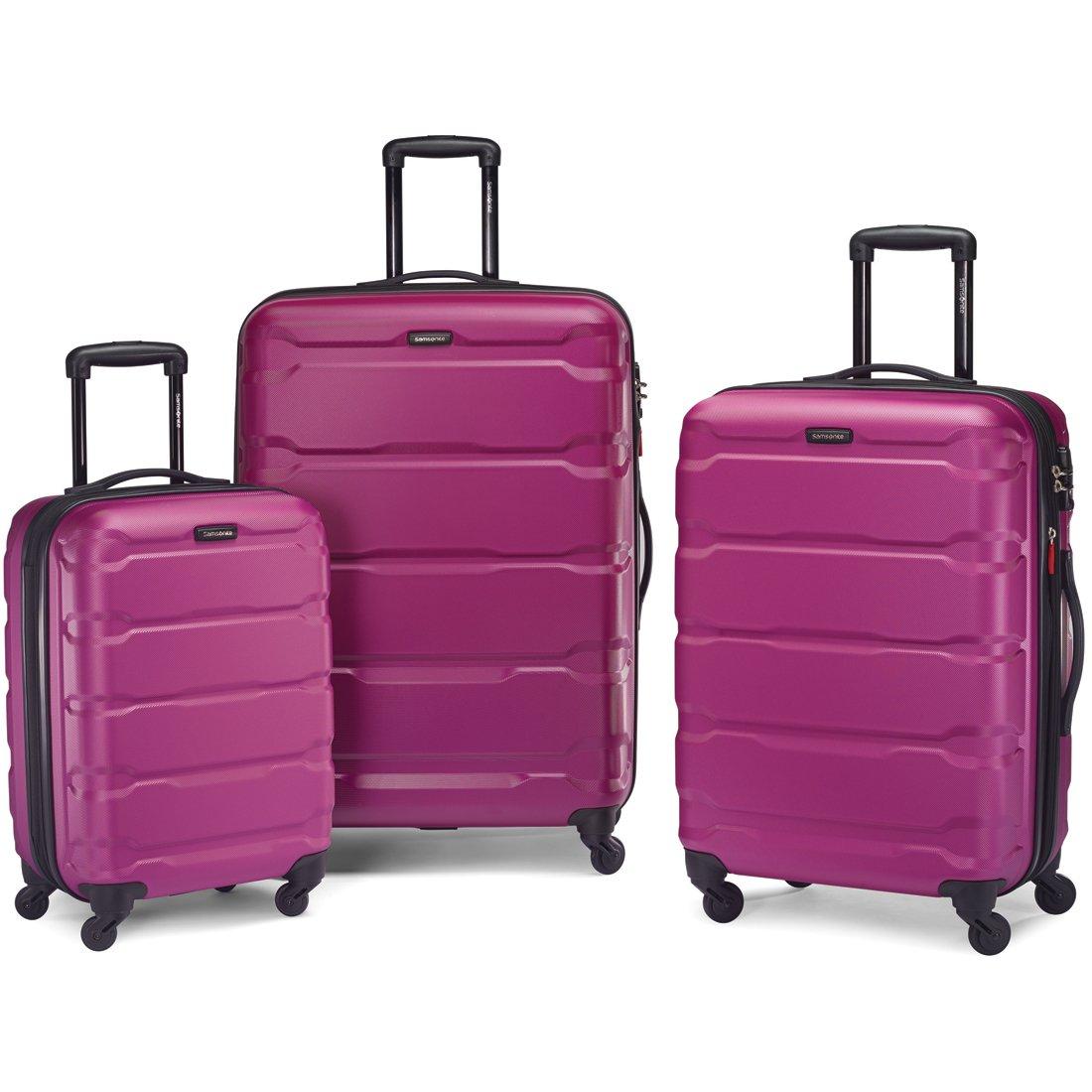 7beac54bebf8 Samsonite Omni Hardside Luggage Nested Spinner Set (20