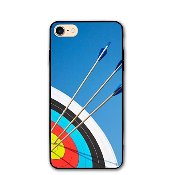 .com: printing custom design target archery iphone 8 phone ...