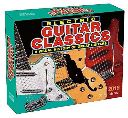 - Electric Guitar Classics 2019 Boxed Daily Calendar