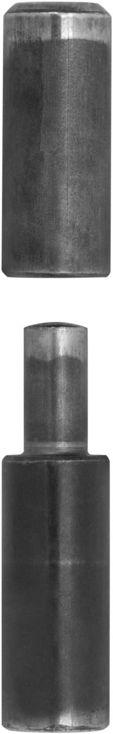 Anschweissbandrolle rund 10 x 50 mm Bandrolle zum anschwei/ßen Anschwei/ßscharnier Stahlt/ürband Stahlt/ür Scharnier von SO-TECH/®