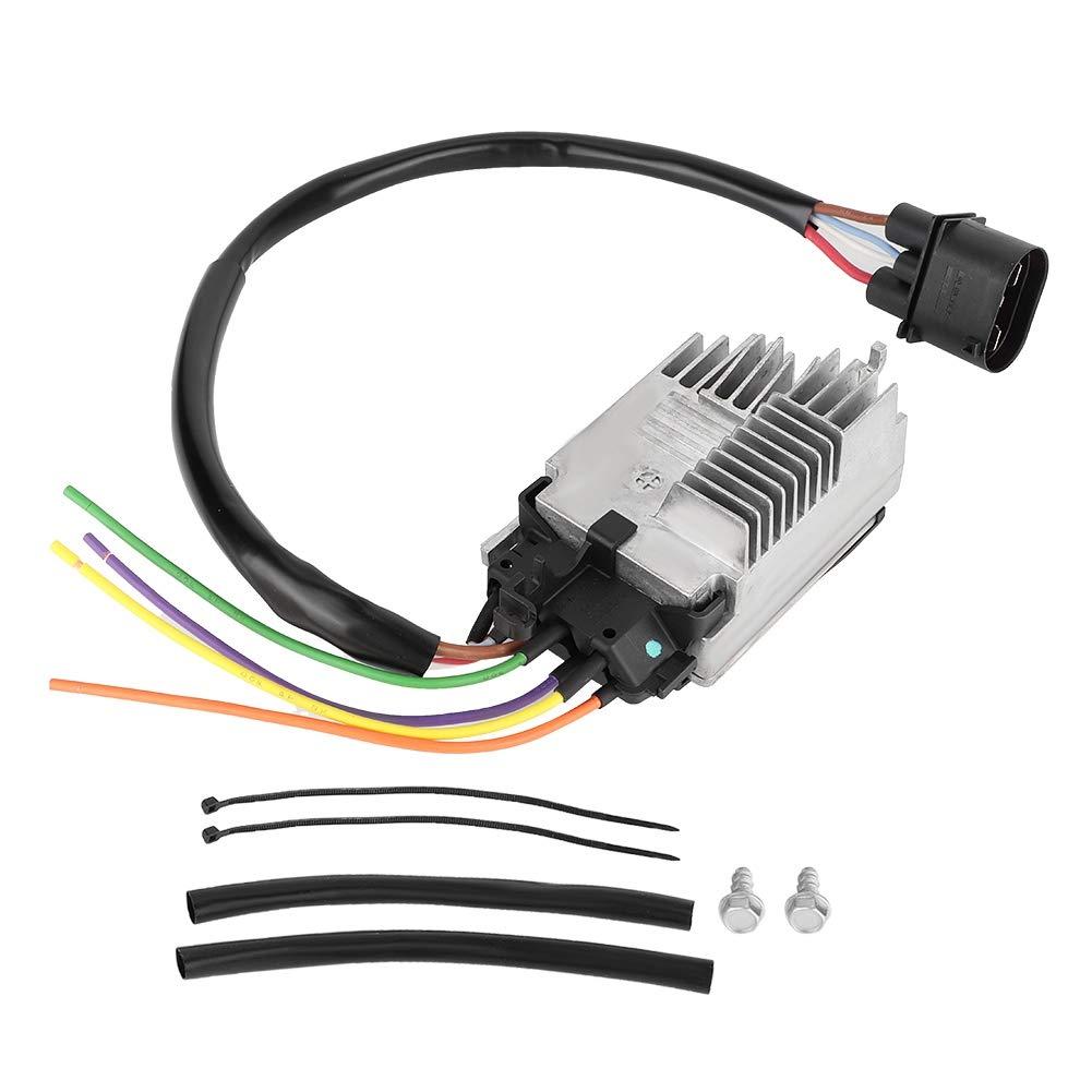 Suuonee Automotive Thermal Control, Module Radiator Fan Control Unit Module for A4 A4 Quattro 8E0 959 501R