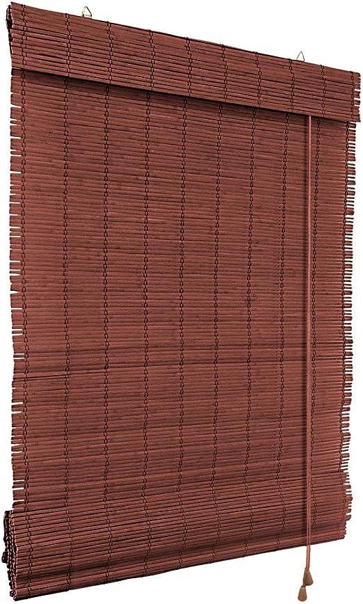 Victoria M. Persiana Enrollable de bambú - fijación sin taladrar (Klemmfix) - Estor de bambú - 80 x 160cm, Color Cereza: Amazon.es: Hogar