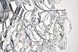 Bestier Modern Pendant Chandelier Crystal