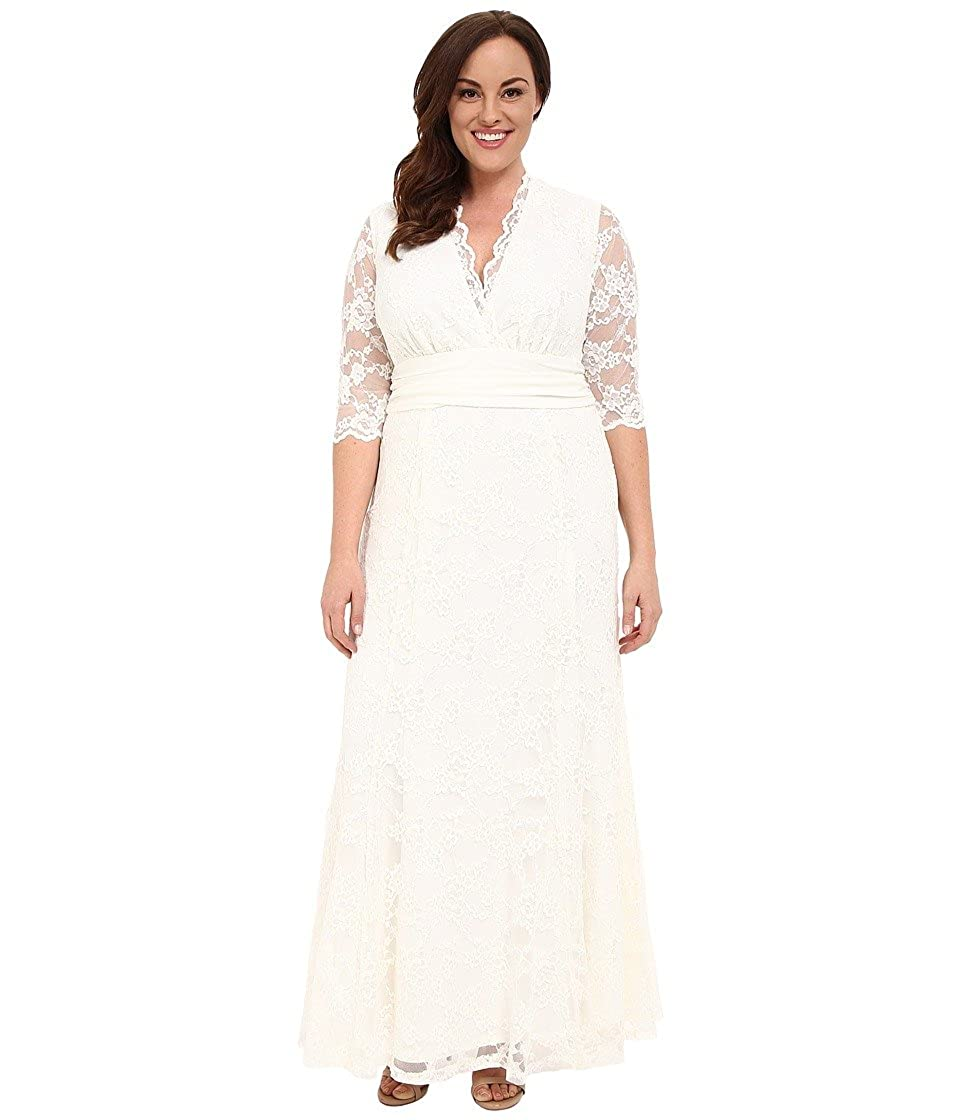 158aa5f4da1 Kiyonna Womens Amour Lace Wedding Gown at Amazon Women s Clothing store