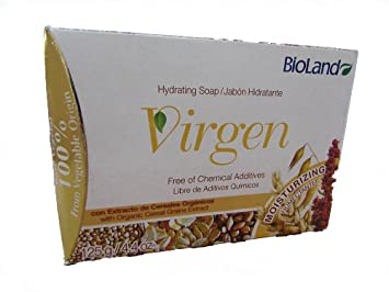 Cereal Extreal Soap 125gr./ Jabon Virgen Con Estracto De Cereales 125g