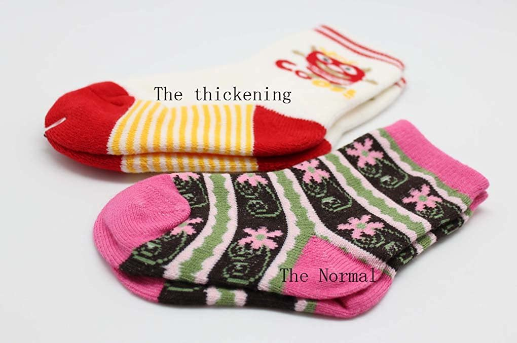AmazingUSA Babies Winter Cotton Socks Cat