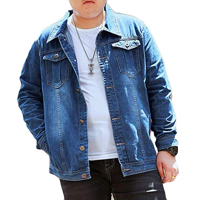Amazon.com: X-Future - Chaqueta para hombre, talla grande ...