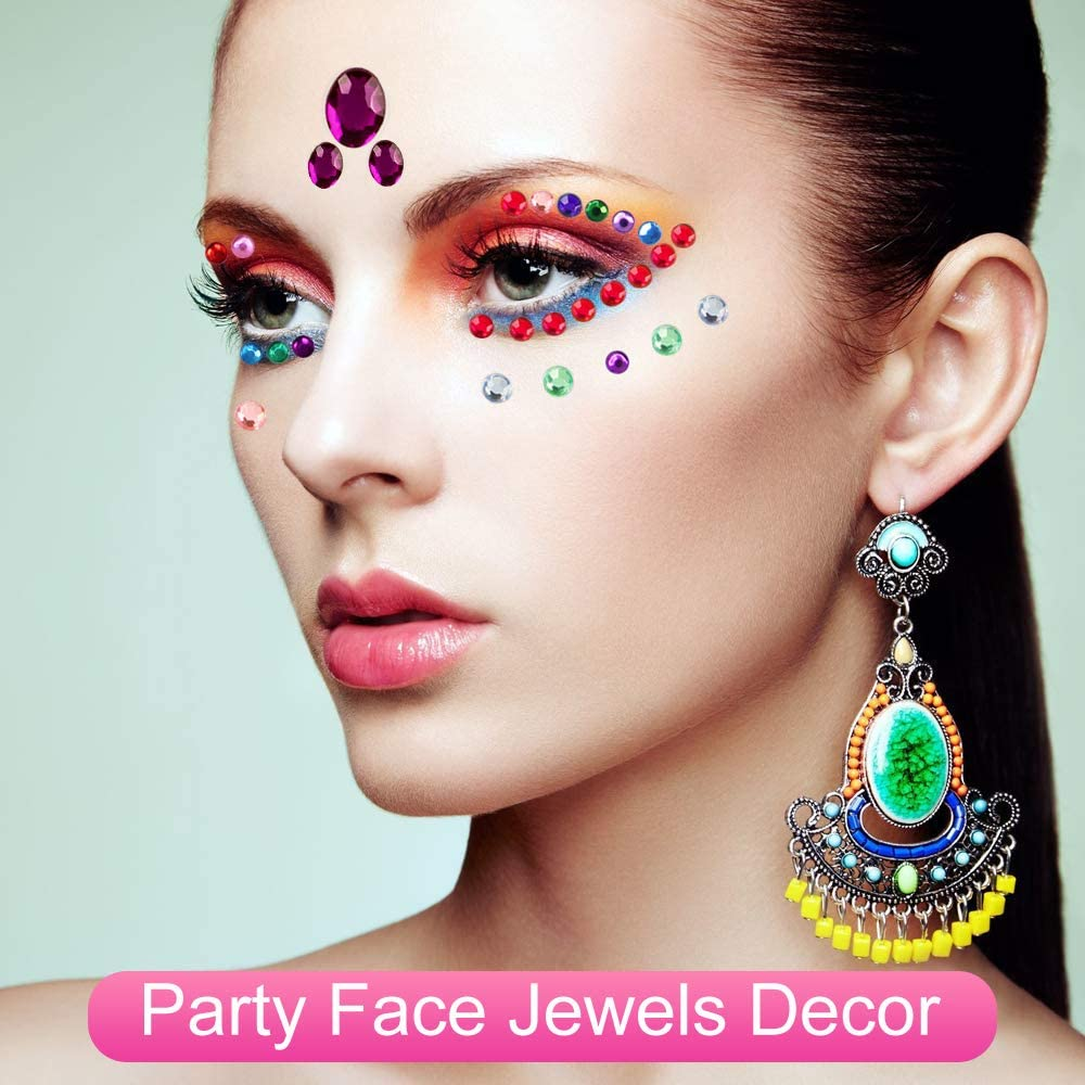 630pcs Gem Stickers Crystal Diamond Sticker Craft Rhinestone Sticker can Stick on Phone Case Frames Self Adhesive Jewels Stickers with Assorted Sizes /& 12 Color 2 Shapes Notebook Nail Painting