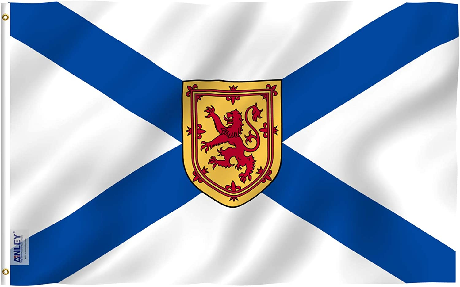 Amazon Com Anley Fly Breeze 3x5 Foot Nova Scotia Flag Vivid Color And Fade Proof Canadian Province Of Nova Scotia Flags With Brass Grommets 3 X 5 Ft Garden Outdoor