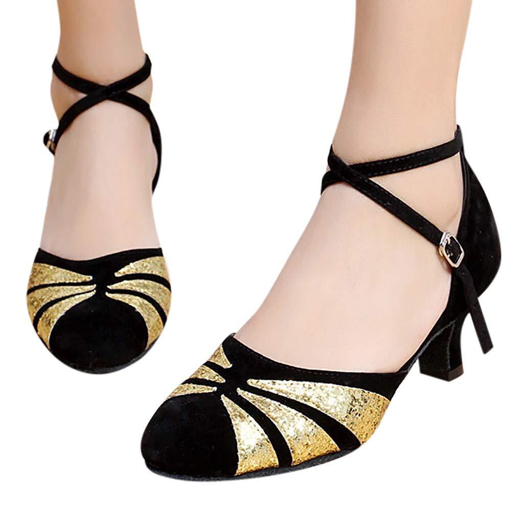 HLIYY Sandales Femmes Mode Bout Rond Boucle Sandales Talons Hauts Sandals Compens/é Plateforme /Ét/é Escarpin Sandale Style Romain Cheville Sandale Bloc Talon 5~8Cm Vacances Loisir Chaussure