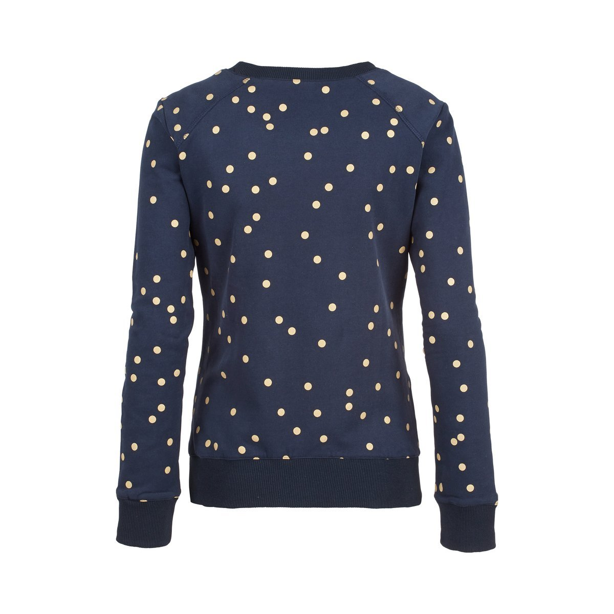 2HEARTS Umstands-Pullover Golden Dots
