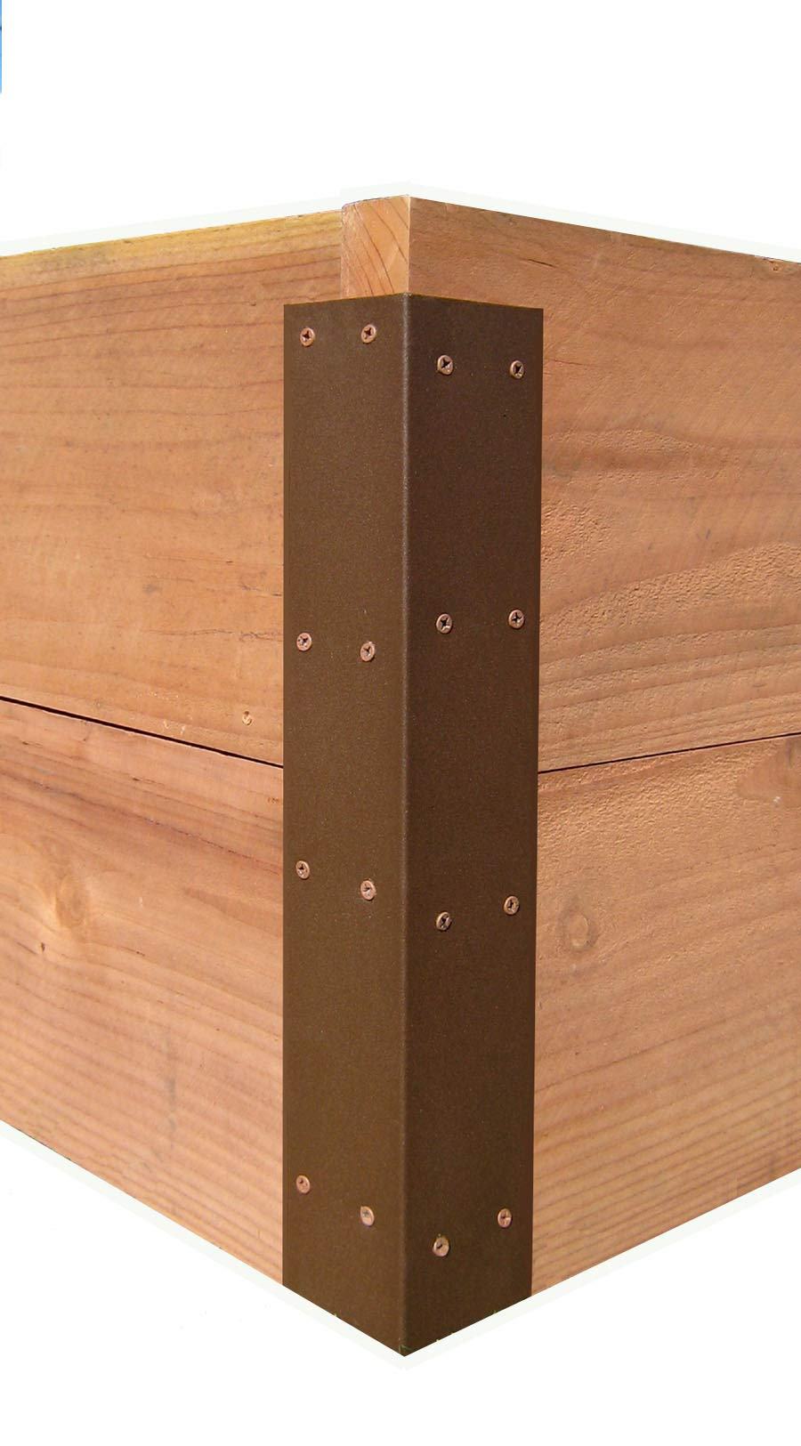 Raised Garden Bed Corner Brackets - for 20'' H Beds