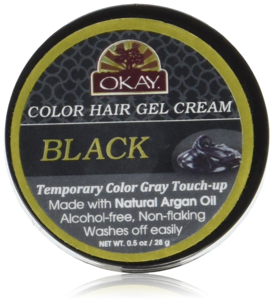 OKAY Color hair gel - black .5oz/15ml Xtreme Beauty International