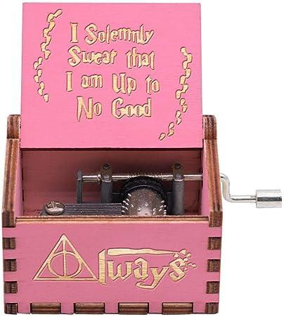 Caja de música de Harry Potter, juegos de DVD de caja musical de juguete, el mejor regalo para manualidades de madera, juguetes musicales de la familia de amigos: Amazon.es: Hogar