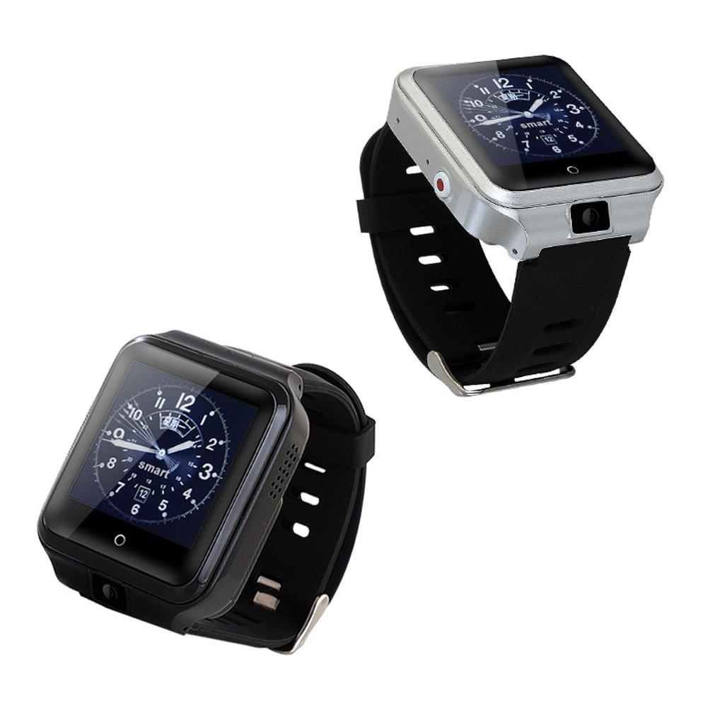 Amazon.com: M13 smart watch Android 6.0 RAM 1GB ROM 8GB support 4G SIM Heart Rate WIFI GPS smartwatch IP67 Waterproof Blood pressure sport watch (silver): ...