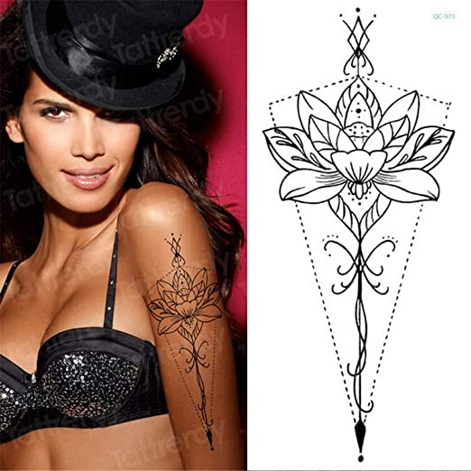 5Pcs-Tattoo Sticker Tatuaje Impermeable Hombres Belleza Brazo ...