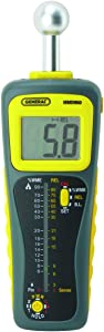 General Tools MMD950 Moisture Meter, Pin Type or Pinless, Deep Sensing with Sensor and Remote Probe