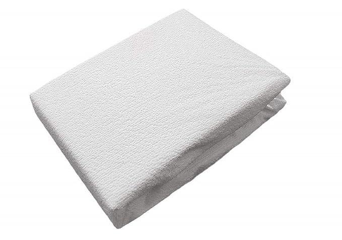 Totalmente encajado impermeable anti-cama bug protector de colchón-doble (135x190x25cm): Amazon.es: Hogar