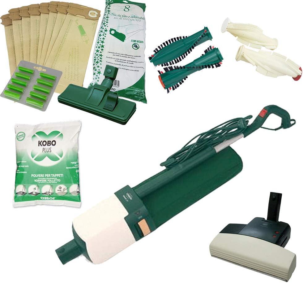 Aspirapolvere Polvere Sacchetto per VORWERK VK121 pacco da 5