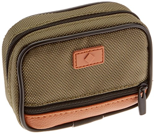 Fashion Smart Men's 7 Day Compartment Pill Box Zip Case with Outer Pocket,  ()
