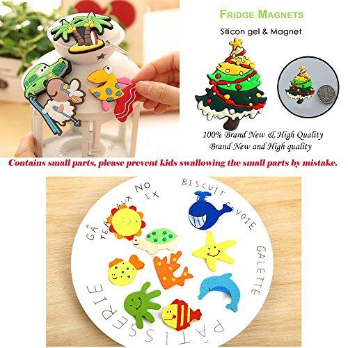 Durable Modeling 24 Pcs Cute Animals Fridge Magnets For Kids Toddler