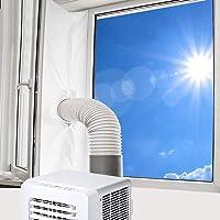 Vegena 400 cm universal fönstertätning, fönstertätning luftkonditionering för bärbar luftkonditionering och torktumlare…
