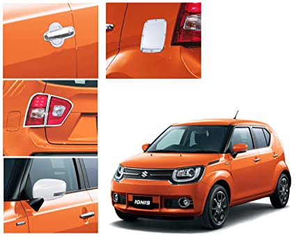 Autopearl chrome accessories combo kit for maruti suzuki ignis autopearl chrome accessories combo kit for maruti suzuki ignis fandeluxe Choice Image