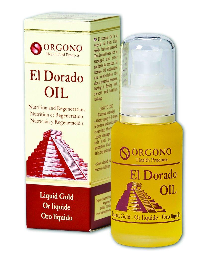 Orgono El Dorado Oil Aceite de Chía Oro Líquido para tu Piel - 50 ...