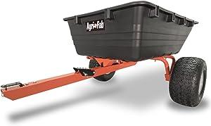 Agri-Fab 45-0529 ATV Swivel Dump Cart, 17 cu. ft, Orange/Black
