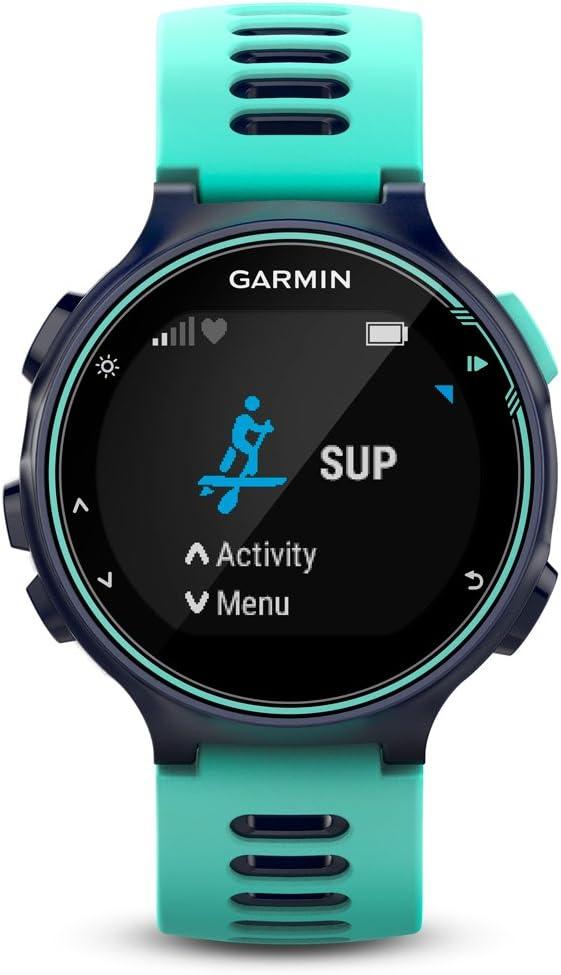 Garmin Forerunner 735XT Pack de Reloj Multisport, Unisex Adulto, Turquesa y Azul, M: Amazon.es: Deportes y aire libre