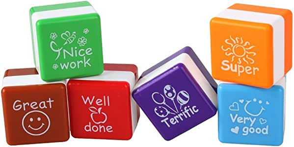 Juego de sellos para profesores muy buenos/bien hechos/buen ...