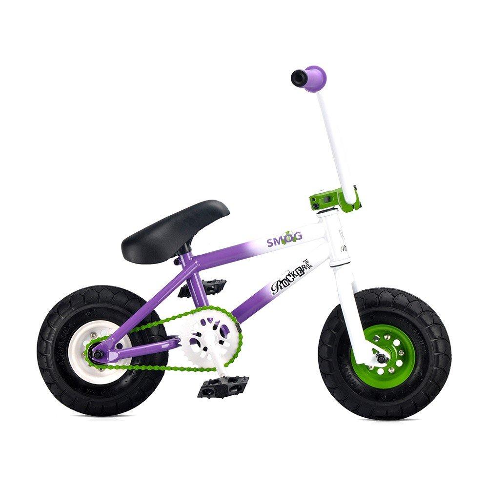 Rocker mini BMX(ロッカーミニビーエムエックス) IROCK 競技用 自転車 ストリート mini BMX ir-012 SMOG 10インチ B01B7C01UI