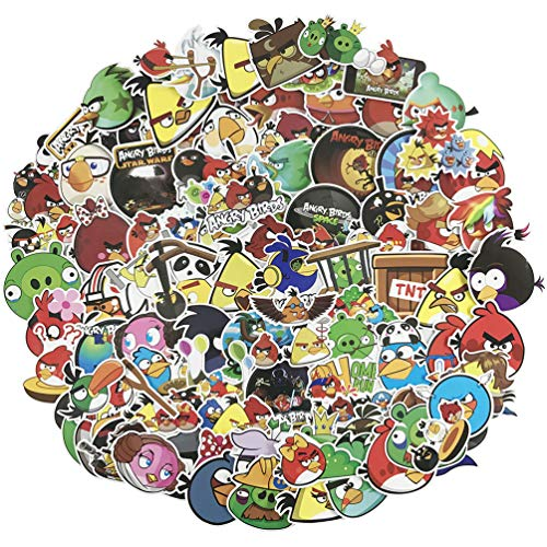 Angry Birds Laptop Stickers 100pcs Pack Cute