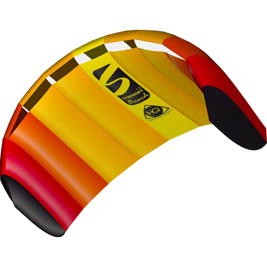 HQ Kites Symphony Beach III 1.3 Stunt Kite 51'' Dual - Line Sport Kite by HQ Kites and Design
