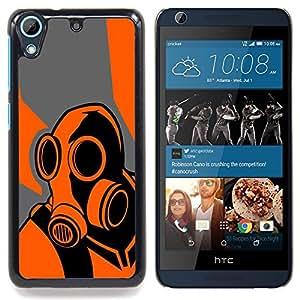 """Qstar Arte & diseño plástico duro Fundas Cover Cubre Hard Case Cover para HTC Desire 626 (Naranja Psycho - B0Rderlands Juego"""")"""