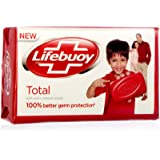 Lifebuoy Total 10- Soap Bar - 125g X 12 Bars (125g X 12 Bars)