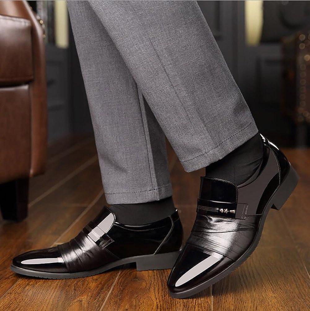 Herren Lederschuhe, Formale Business Arbeit Arbeit Arbeit Bequeme Mokassins, Spring Herbst High Grade Herrenschuhe, Hochzeitsschuhe, Wies Einzelne Schuhe  50d189