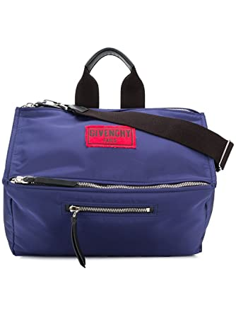 943ec4d9db Givenchy Men s Bk5006k02u400 Blue Polyamide Messenger Bag  Amazon.co ...