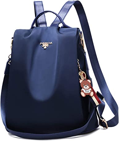 Fmeida Leather Shoulder Bag Fashion Womens Backpack Purse for Work College School