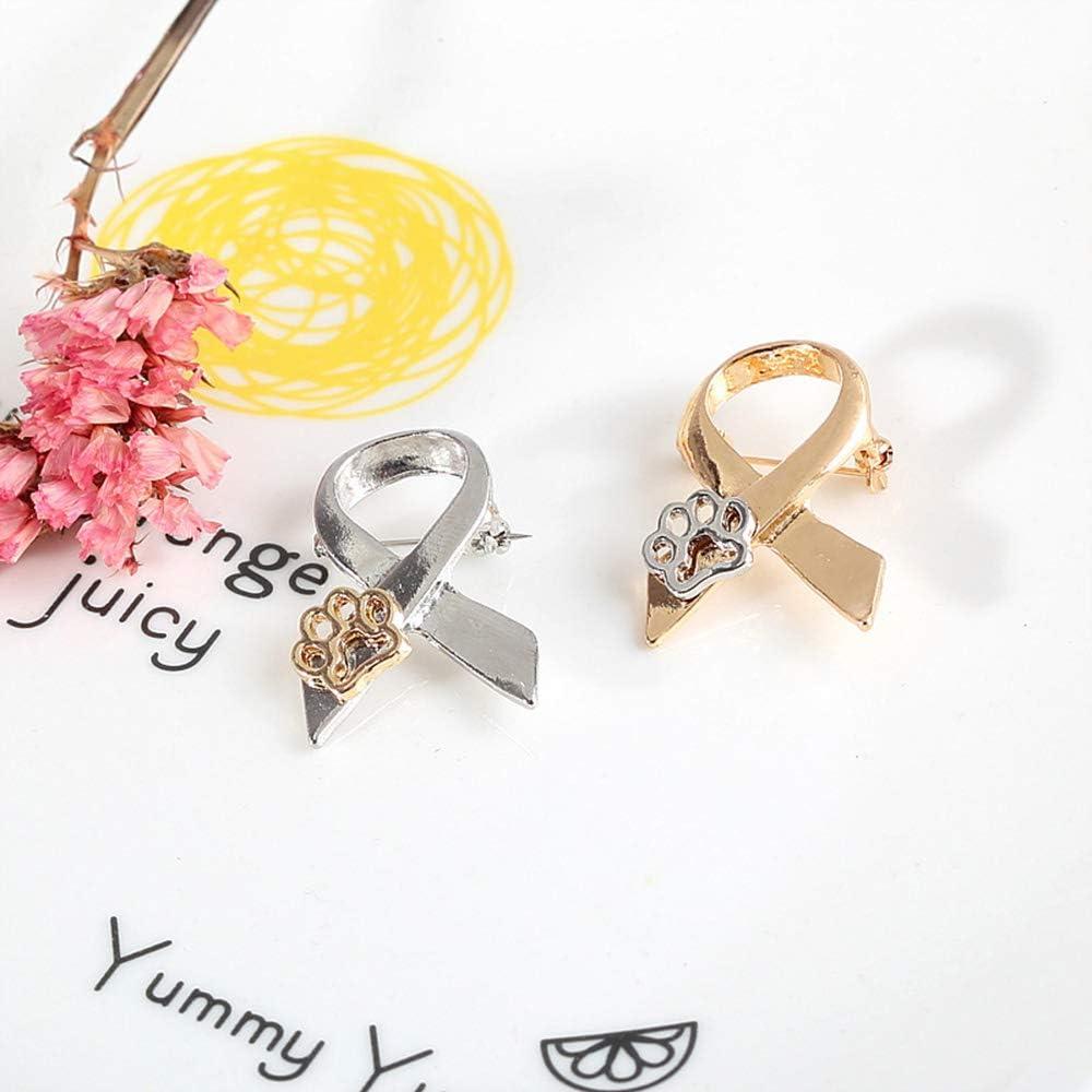 spilla per maglione oro rosa creativo e utile Fliyeong idea regalo per donne a forma di cane gattino Spilla a forma di sciarpa con zampe