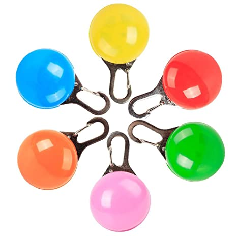 Mini llavero mini linterna LED Hengory 6 piezas llavero ...