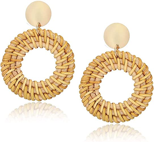 Boho Leaf Drop Dangle Earrings Statement Ear Studs Womens Charm Jewelry  BC